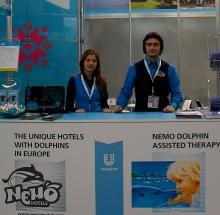 Единственный в Европе отель с дельфинами улучшает туристическую привлекательность Украины